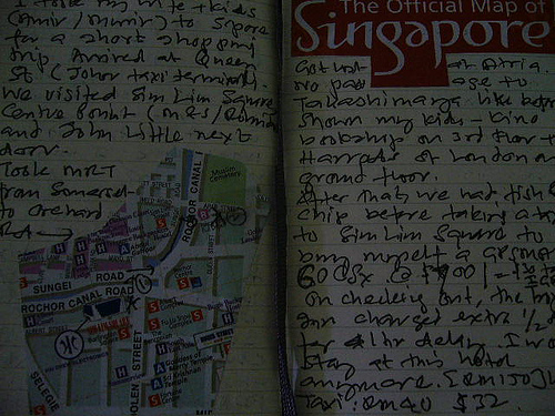 Travel notes to Singapore
