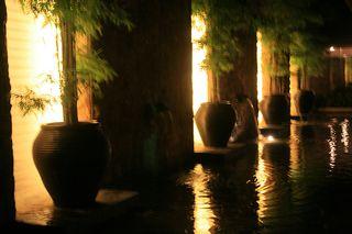 Night view at Guoman resort