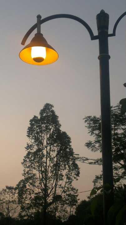 Lamp post at TTC