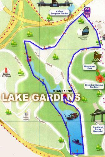Lake Garden 5km