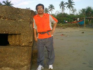 Jogging At Pantai Irama