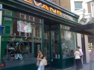 Evans Cycles,Notting Hill