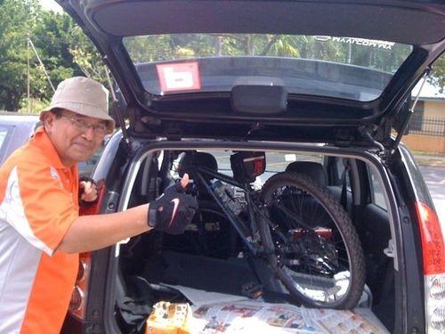 Bike in Myvi