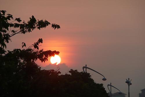 Morning sun at Putrajaya