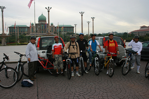 Cycling @Putrajaya Lake