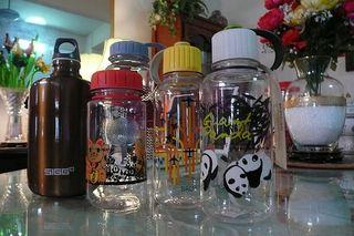 Bros and SIGG bottles