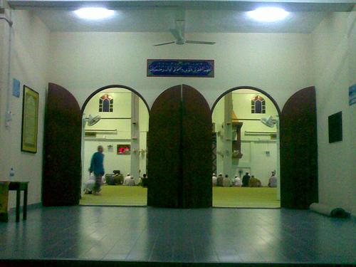 masjid entrance..