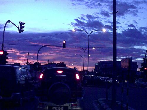 Blue evening at Kota Bharu