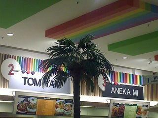 Colourful Food Court at AEON AU2