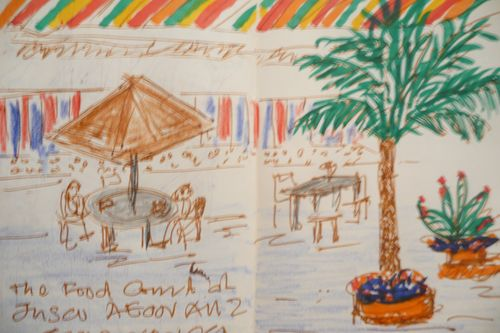 AEON Food Sketch