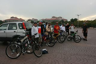 Cycling @Putrajaya Lake