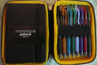 Monologue Platinum :Pen+Notebook