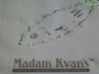 My fishy sketch at Madam Kwan's