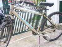 Haro bike -Manitou fork