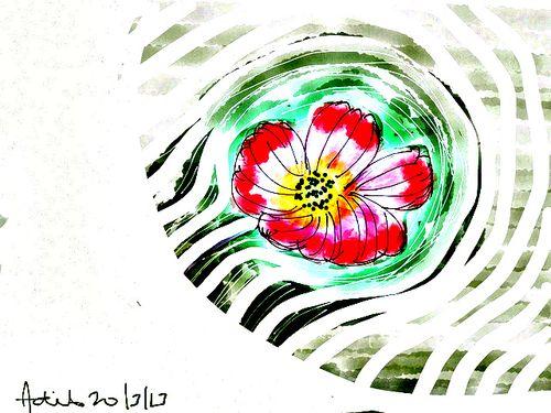 HDR flower